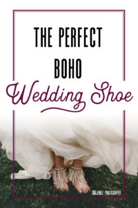 the perfect boho wedding shoe