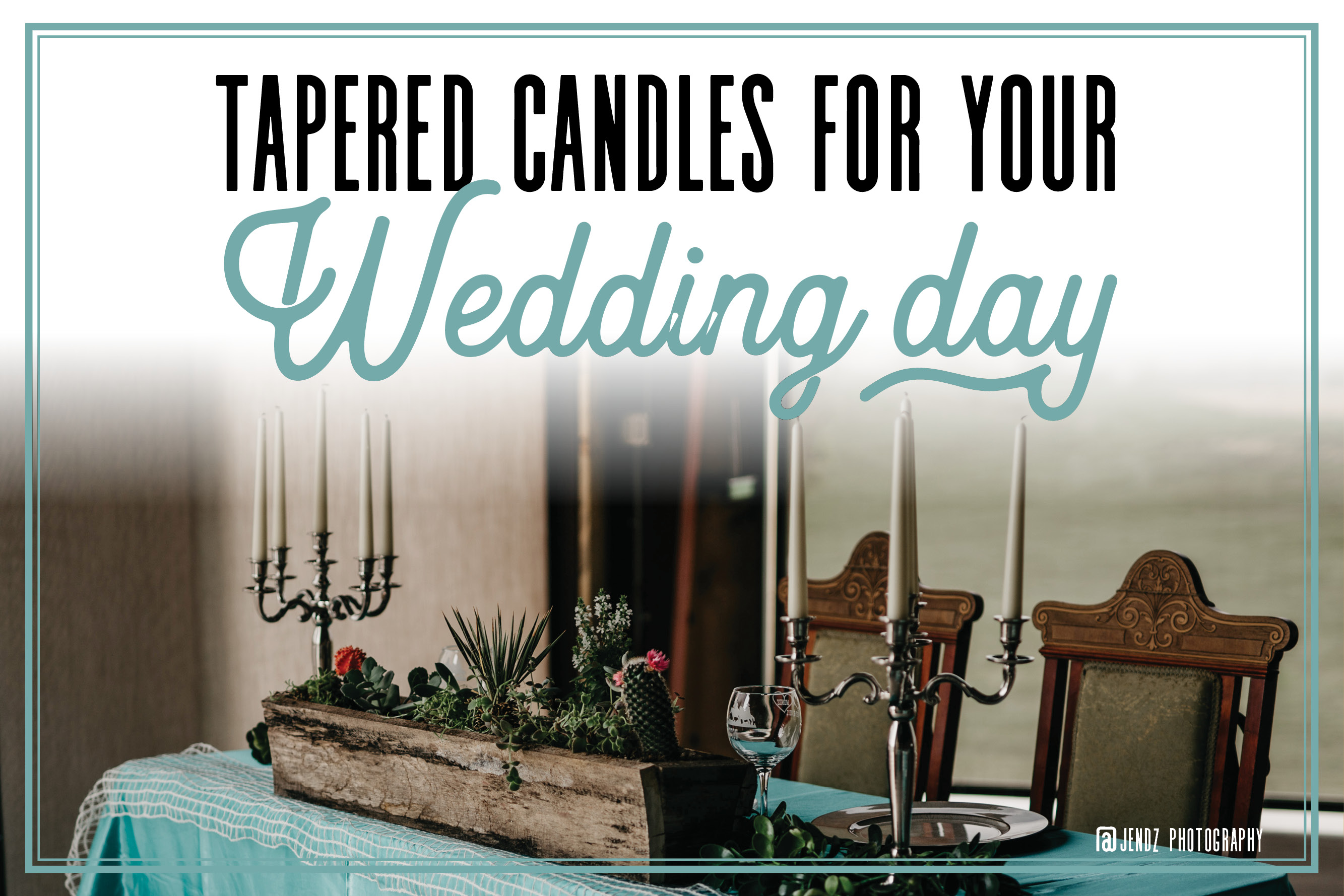 Tapered Candles for Your Wedding Day