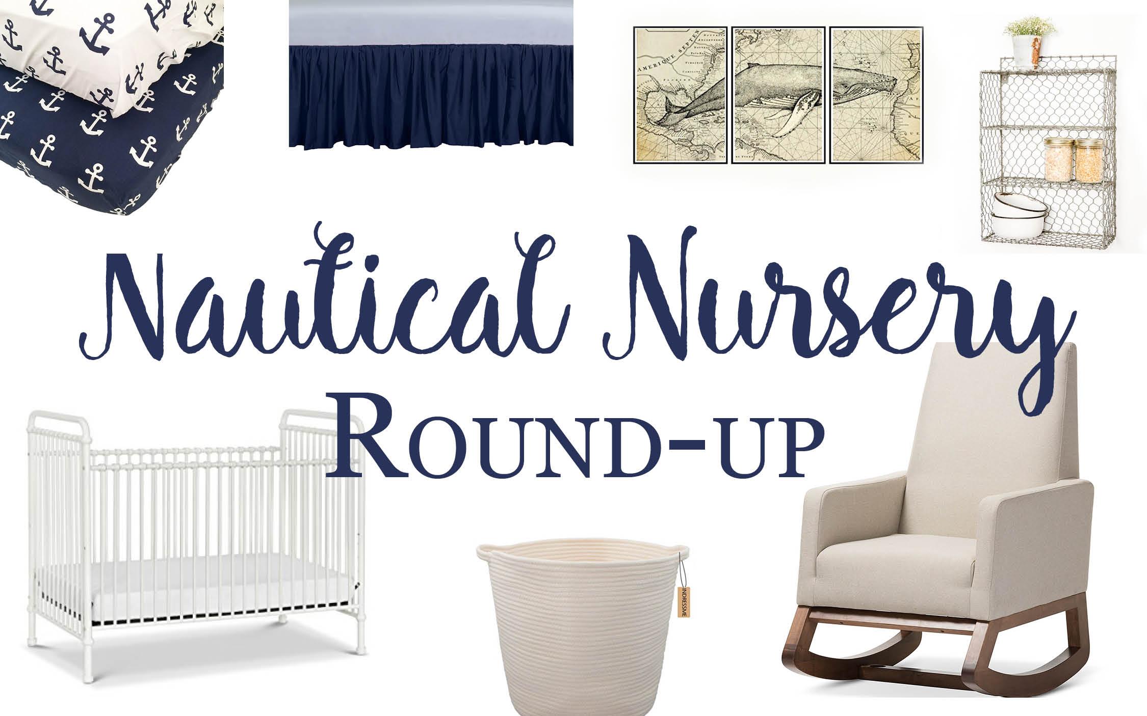 Nautical Nursery Round-Up
