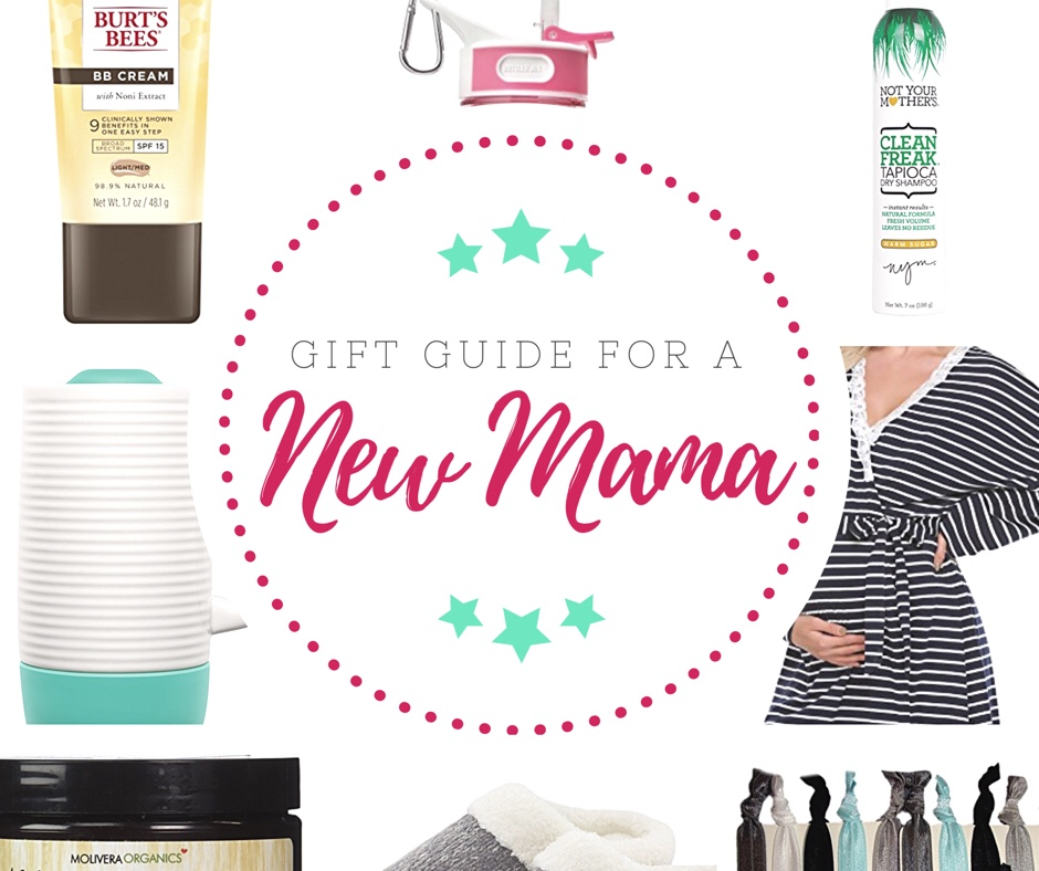New Mama Gift Guide – Don't forget to pamper mama too!