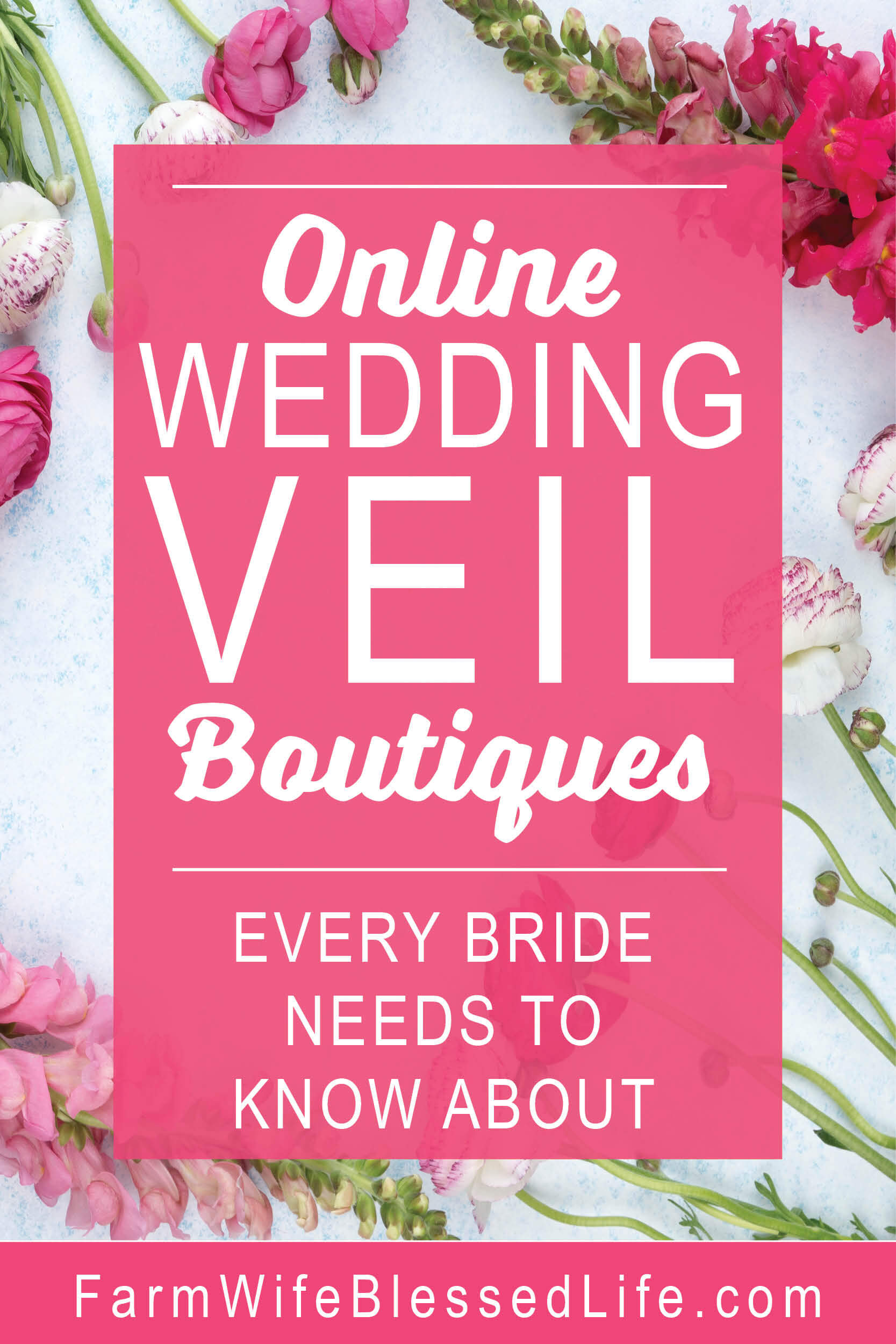 Online Wedding Veil Boutiques Every Bride Needs to Know About
