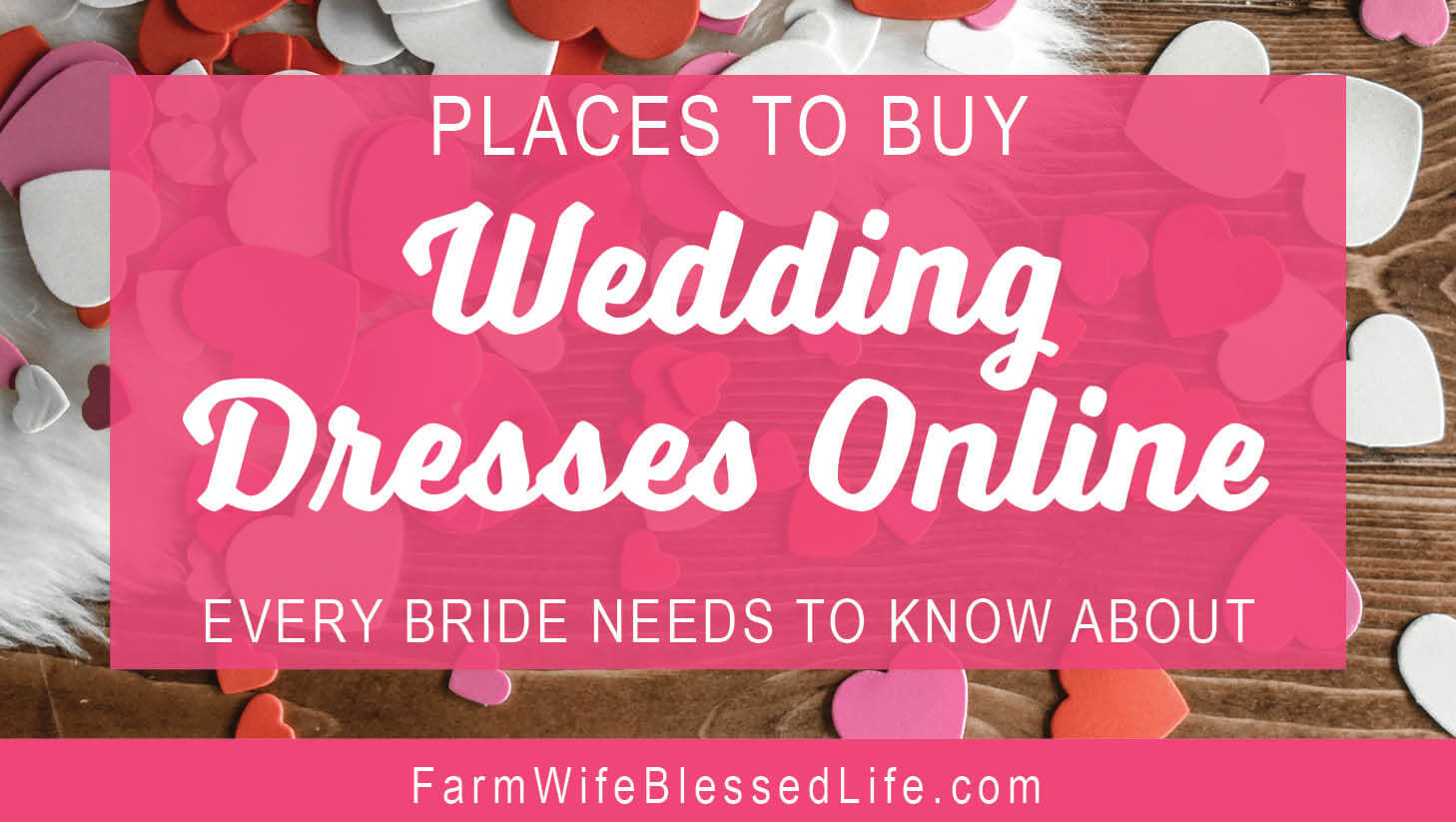 Places to Buy Wedding Dresses Online