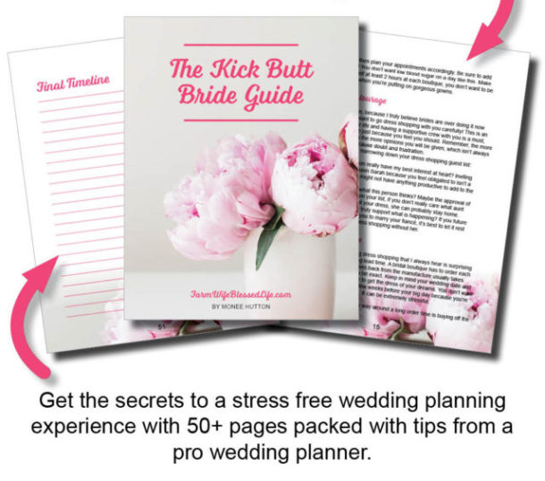 Kick Butt Bride Guide to Planning Your Own Wedding